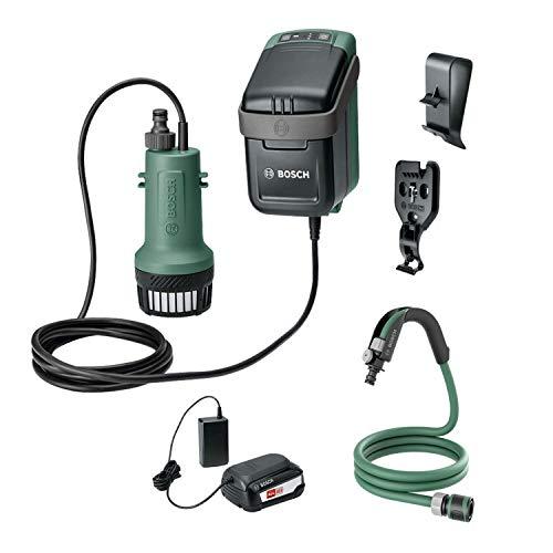 Bosch Wasserpumpe GardenPump (1x Akku, 18-Volt-System, max. Länge des Gartenschlauchs: 25 m, im Karton)