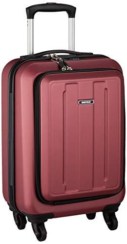 [マンハッタンエクスプレス] スーツケース ジッパー フロントオープン 機内持ち込み可 28L 53 cm 2.8kg ワイン