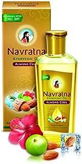 Navratna Ayurvedic Oil Almond Cool 100 ML by Navratna