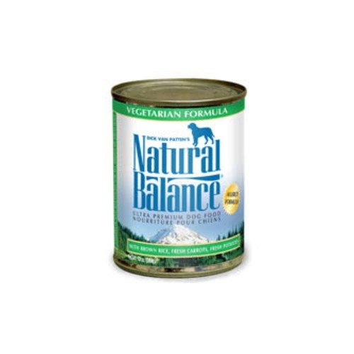 NATURAL BALANCE PET FOODS - VEGETARIAN DOG CAN 12/13OZ CaseFORMULA