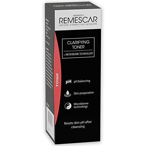 Remescar Tonico Chiarificante - prepara la pelle per sieri e creme idratanti - rinfrescante e delicato Toner viso - Ripristina i livelli di pH della pelle