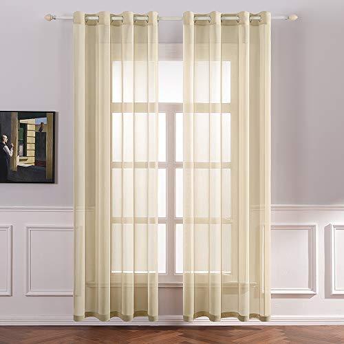 cortinas comedor crudo