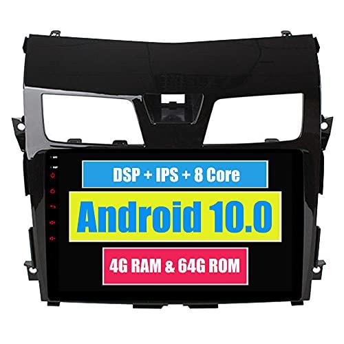 Roverone 10,2 Pouces Android 6.0 Octa Core pour Nissan Teana Altima 2013 2014 2015 Autoradio avec navigation GPS Bluetooth stéréo Miroir Link Full écran tactile