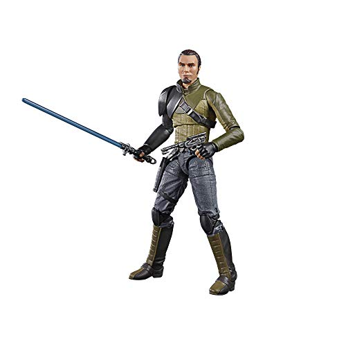 Star Wars The Black Series Kanan Jarrus Toy 6-Inch-Scale Star Wars Rebels Collectible Action Figure, Toys for Kids Ages 4 and Up