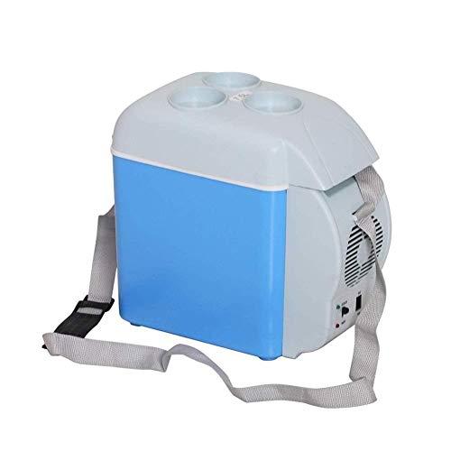 XFZK Auto-Kühlschrank, 7.5L heißer und kalter Mini-Kühlschrank Kostenlose tragbare Gefrierschrank Auto Kleiner Kühlschrank mit Getränkehalter