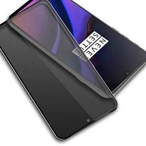 Privacy Pellicola Protettiva Compatible con OnePlus 6T, SpiritSun HD [Anti-Spy] Pellicola Vetro Temperato for OnePlus 6T 9H Anti-Impronte Digitali Schermo in Vetro Temperato per OnePlus 6T