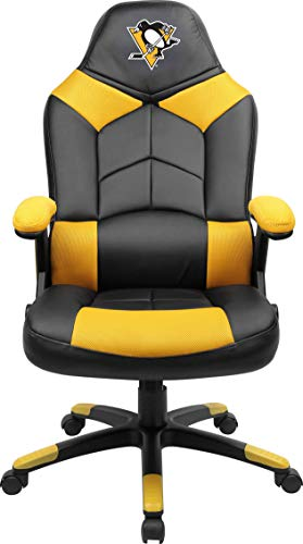 Imperial Officially Licensed NHL Furniture; Oversized Gaming Chairs, Pittsburgh Penguins