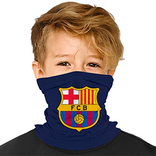 Balaclava Barcelona Logo Face Cover Windproof, Dustproof and Sunproof Scarf