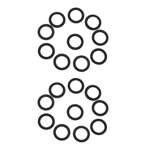 20 Stücke Ersatz Skateboard Longboard LKW Washer Speed Ring Hardware