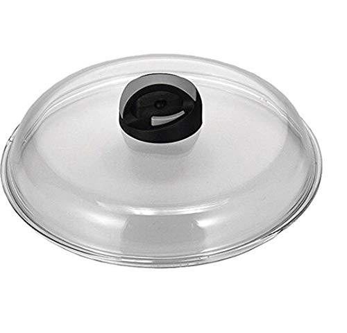 BALLARINI Coperchio Vetro bombato Manico Nero Pentole e Preparazione Cucina, 26 cm