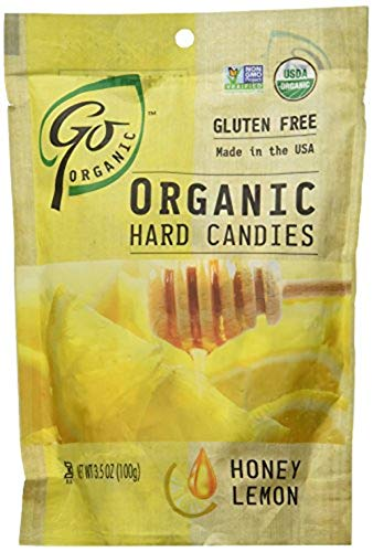 Go Naturally Candy Honey Lemon Org 35Ounce