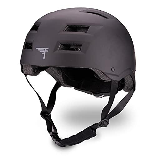 Flybar Protective Multi-Sport Adjustable Helmet,Black,S/M