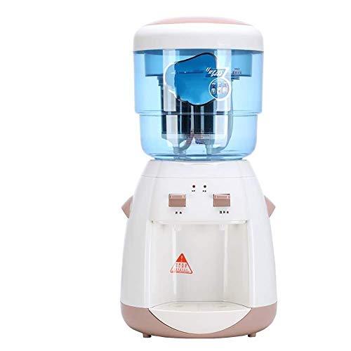 UWY Mini Petit Refroidisseur d'eau à Chargement par Le Haut avec Filtre à Seau d'eau, Distributeur de Refroidisseur d'eau de comptoir (Couleur: Marron)