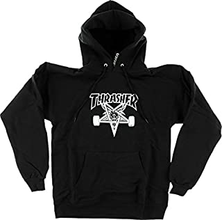 Magazine Skategoat Black Hooded Sweatshirt - Small