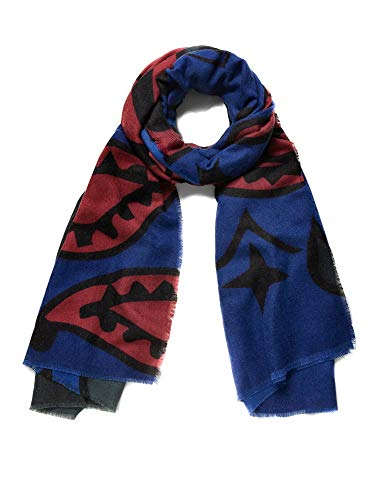Desigual Women's Foulard Bandana, Medieval Blue, U