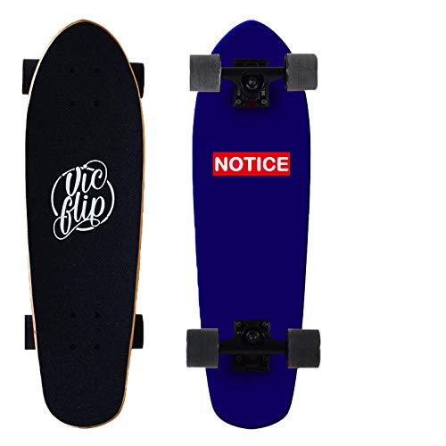 Skateboard Complete Kids Osprey Longboard Standard Beginners Cruiser Deck Adults dropthrough Maple Boards Teen Dance Leisure Skateboard