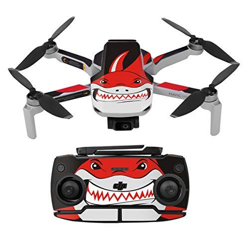 O'woda 3M PVC Extraíble Impermeable Pegatina protección Drone Cuerpo Brazo Control Remoto Accesorios UAV Piel decoración para dji Mavic Mini