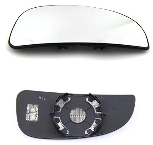TarosTrade 57-0200-L-48193 Spiegelglas Heizbar Unteres Teil Links