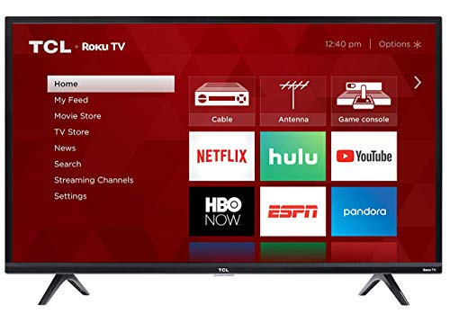 TCL 32S325 32 Inch 720p Roku Smart LED TV (2019) (Renewed)