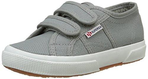 Superga 2750- JVEL CLASSIC S0003E0, Unisex - Kinder Sneaker, Grau (M38 Grey Sage), 24 EU (7 UK)