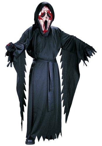 Fun World Child Bleeding Ghost Face Costume Medium