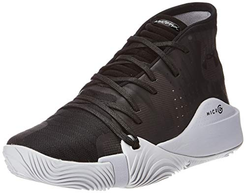 Under Armour Herren UA Spawn Mid Basketballschuhe, Schwarz (Black 004), 45 EU