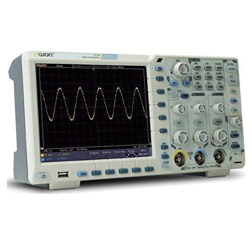 YYJYSM Osciloscopio Digital XDS3202A osciloscopio Digital, Registrador de Datos + + multímetro generador de Forma de Onda Funciones como 200MHz N-en-1 y 2Gs / s Kit de osciloscopio Profesional
