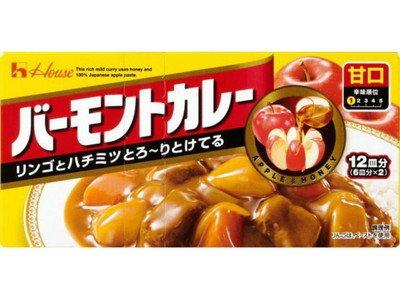 ハウス食品 バーモントカレー 甘口230g ×60個