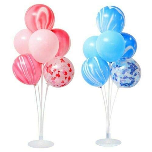 OUlike Plastic Ballon Accessoire Basis Tafel Ondersteuning Houder Cup Stick Stand Party Decor