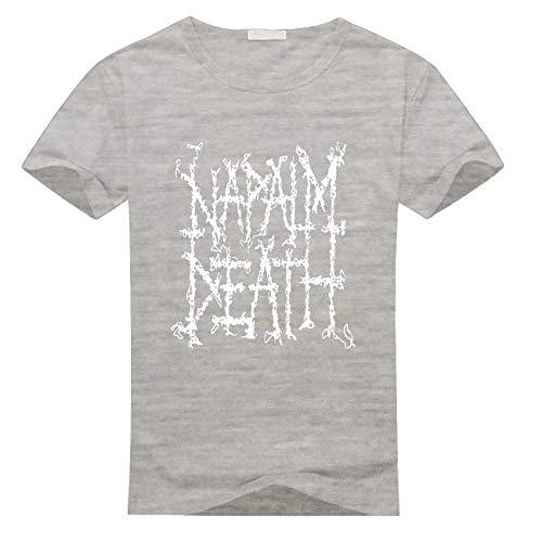 LaMAGLIERIA Canotta Uomo Napalm Death Np05 Maglietta Smanicata 100/% Cotone