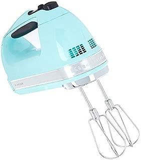KitchenAid (Renewed) RKHM9ic 9-Speed Most Powerful Digital Display Power Hand Mixer Ice Blue