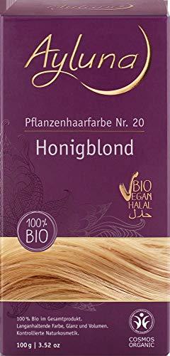 Ayluna Bio Pflanzenhaarfarbe Honigblond (1 x 100 gr)