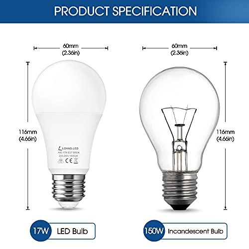 LOHAS-LED LH-EXP014-E27-6000K-4