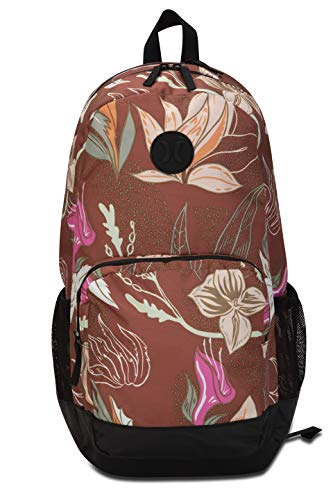 Hurley W Printed Renegade Backpack Mochilas, Mujer, Dusty Peach, 1SIZE