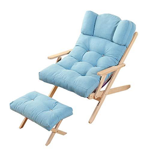 Chaises Longues Chaise Longue Fauteuil Pliant Fauteuil canapé Plage Balcon Chambre à Coucher Loisirs 8 modèles (Couleur : D, Taille : 2)
