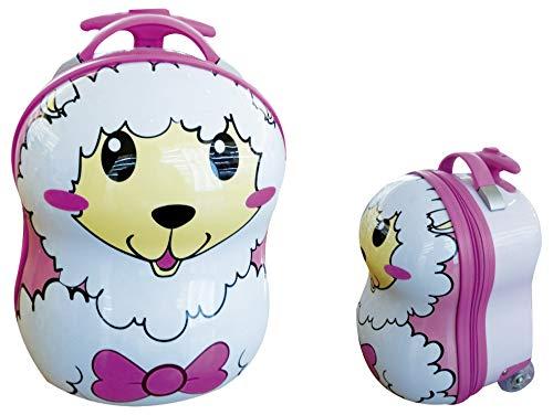 CEG Animal Trolley Valigia per bambini, 33 cm, 7 litri, Rosa