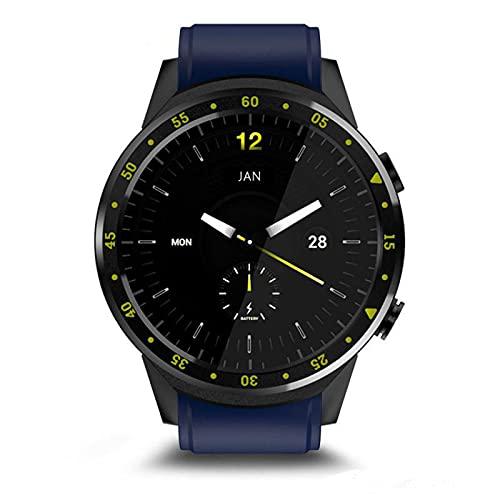 HYK Reloj inteligente, posicionamiento GPS multideportivo de 13 pulgadas, monitoreo de frecuencia cardíaca y presión arterial, compatible con Android IOS (C)
