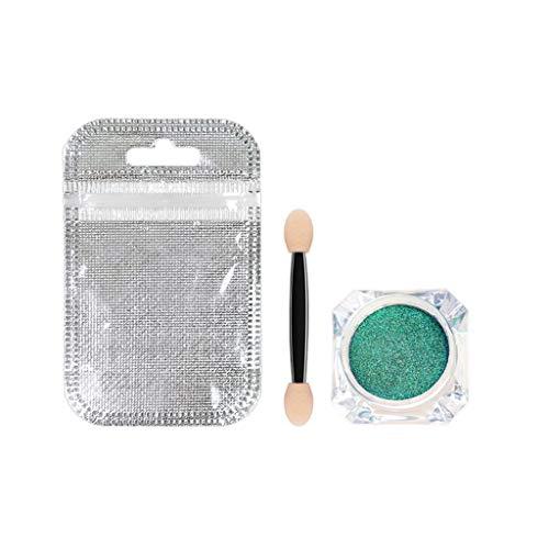 12 Farben Lidschatten Eyeshadow Makeup Super Stay Schimmern Glitzer Lidschatten Highlighter-Stick Wasserdichtes Glitzer Lidschatten Puder Body Pigment Enthält einen Lidschattenpinsel von Frashing