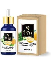 Good Vibes Under Eye Serum, Cucumber And Lemon