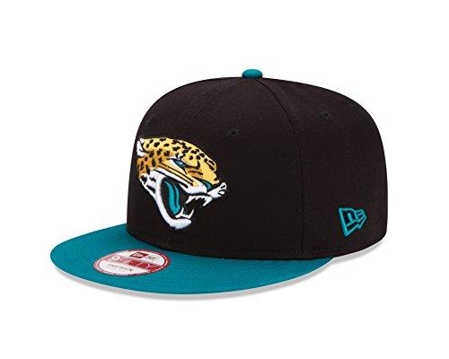 New Era NFL Jacksonville Jaguars Youth Baycik Snap 9Fifty Snapback Cap, Black