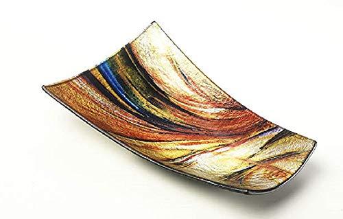 Glasschale rechteckig multicolor Größe: mittel