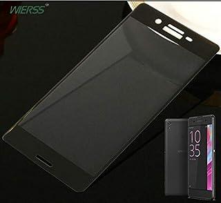 جرابات الهاتف - واقي شاشة من الزجاج المقوى بتغطية كاملة منحنية ثلاثية الأبعاد لهاتف Sony Xperia XA Ultra F3111 F3211 لهاتف...