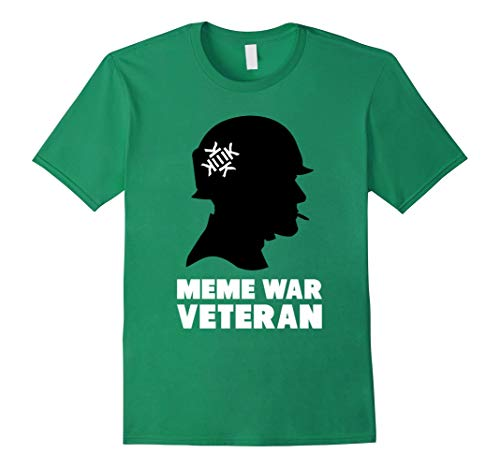 Mens Kekistan T Shirt Meme War Veteran Kek - T Shirt For Men and Woman.