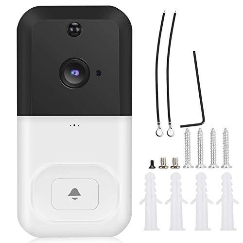 SALUTUYA Cámara de Timbre de videoportero, para aplicación Android(White)