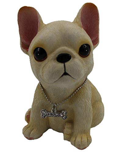 siyaful Lovely French Bulldog Dashboard Toys car Decoration Home Decoration as a Decorations for Your car or Home