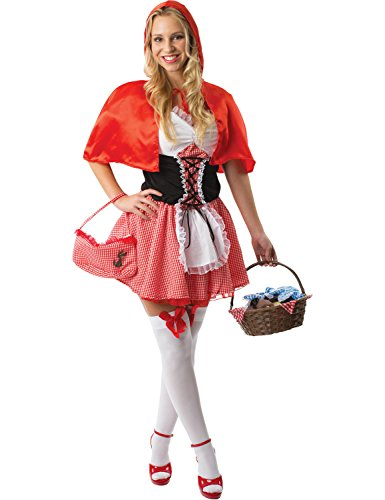 ORION COSTUMES Costume de déguisement du Petit chaperon rouge pour femmes