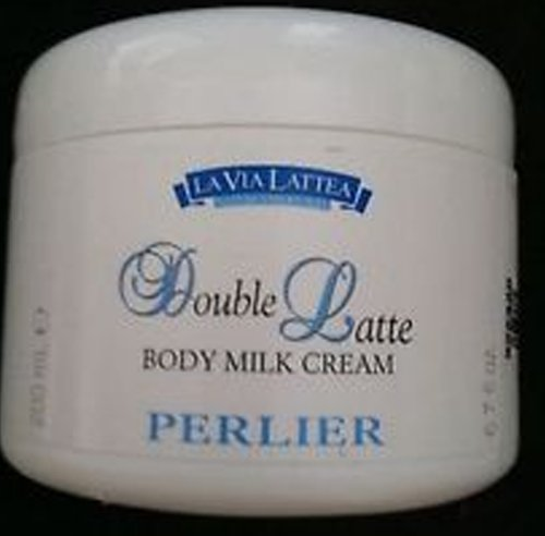 Perlier Double Latte Body Milk Cream For Senitive Skin ~ 6.7oz by Perlier