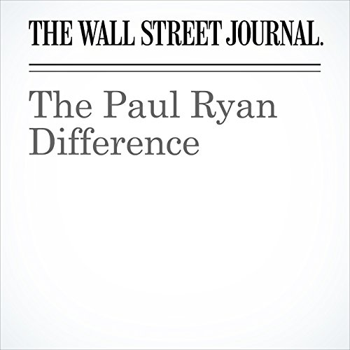 The Paul Ryan Difference copertina