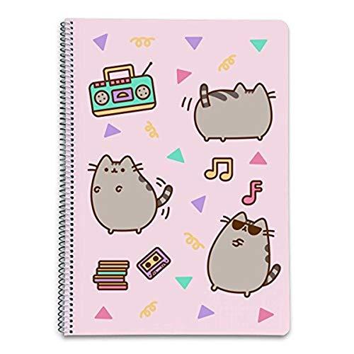 Grupo Erik Editores Pusheen the Cat 2 - Cuaderno con tapa dura, 21 x 29.7 cm, A4