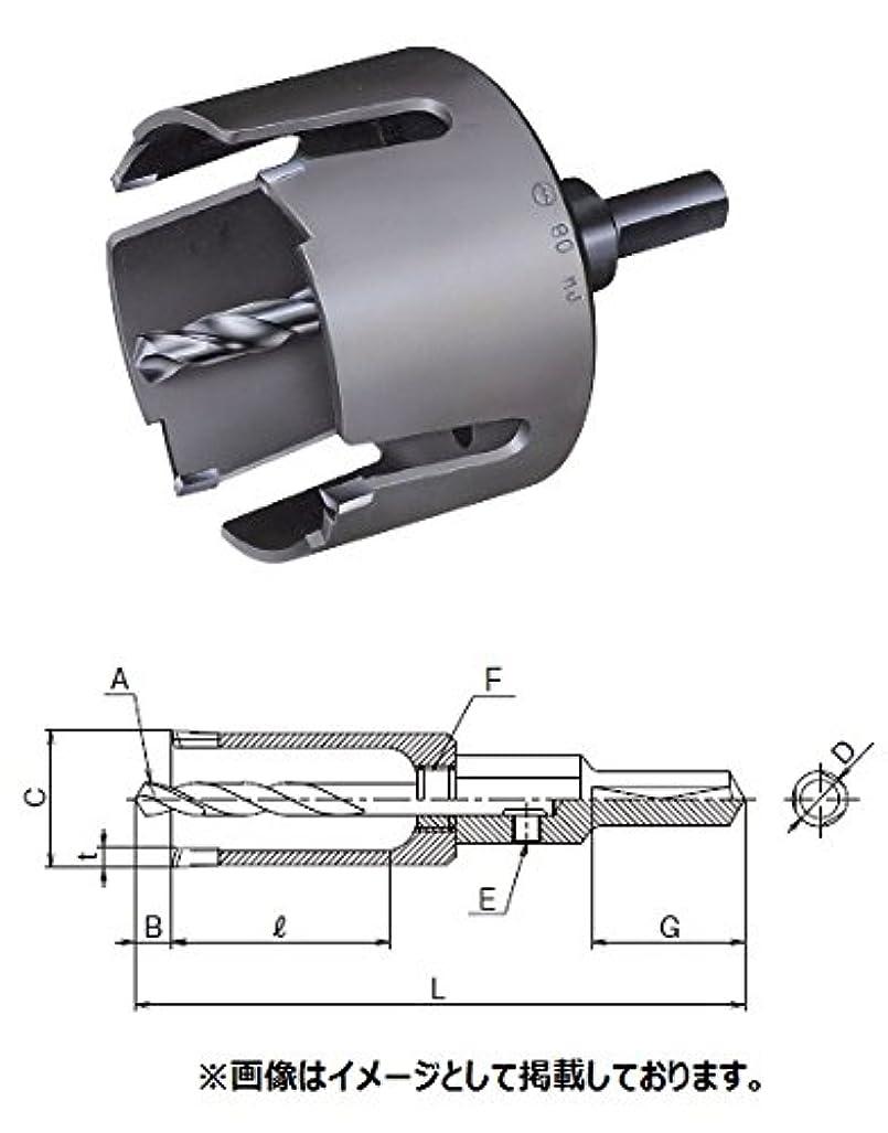 地上でルー警報大見工業 FRPホールカッター 刃径:24mm FRP24